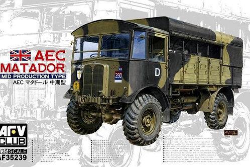 Британский грузовик AEC Matador Mid Production - AFV Club 1:35 AF35239
