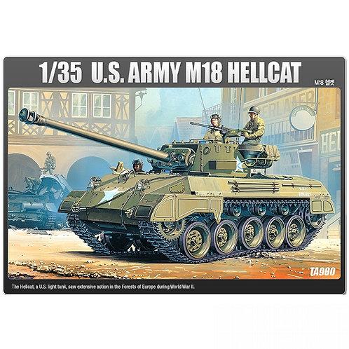 (под заказ) Американская самоходка M18 Hellcat- Academy 1:3513255