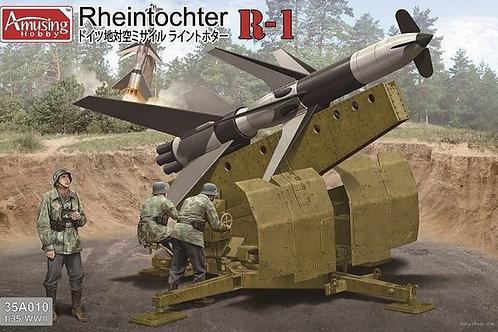 "Rheintochter R-1 (ракета ""Дочь Рейна"") - Amusing Hobby 35A010 1:35"