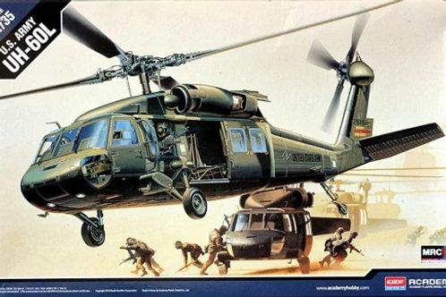 (под заказ) Американский вертолет UH-60L BLACK HAWK - Academy 1:35 12111