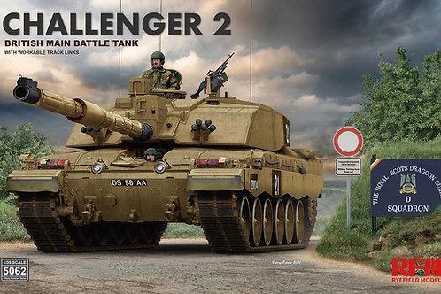 Британский танк Challenger 2 - Rye Field Model RFM 1:35 RM-5062
