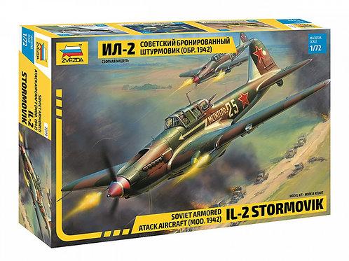 Советский штурмовик Ил-2 обр. 1942 года - Звезда 7279 1/72