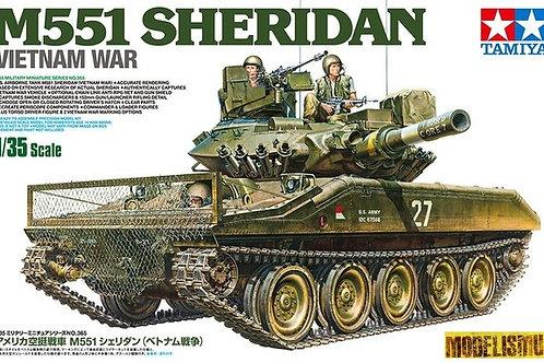 "Американский танк M551 Sheridan ""Шеридан"" - Tamiya 1:35 35365"
