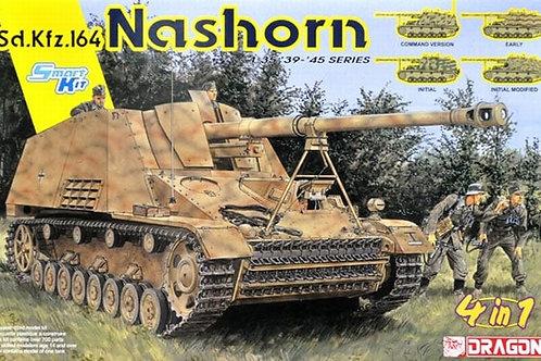 Самоходка Насхорн Sd.Kfz.164 Nashorn 4 in 1 - Dragon 1:35 6459