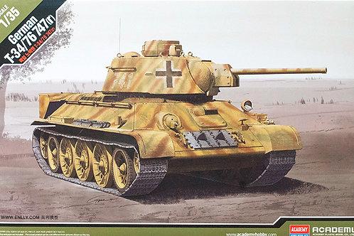 Трофейный танк Т-34/76 747(r) - Academy 1:3513502