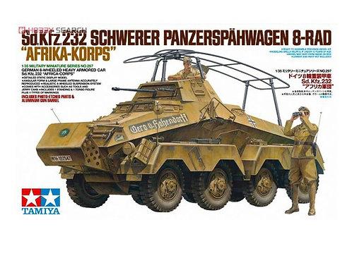 Немецкий бронеавтомобиль Sd.Kfz.232 8-RAD, Африка DAK - Tamiya 35297 1/35