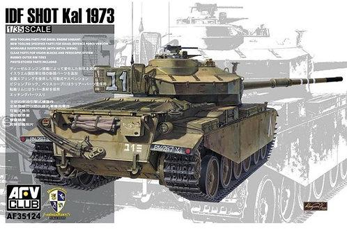 Израильский танк IDF Shot Kal 1973, Шот Каль - AFV Club 1:35 AF35124