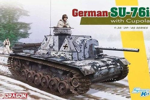 (под заказ) Немецкая самоходка СУ-76и командирская - Dragon 6856 1:35 (Magic)