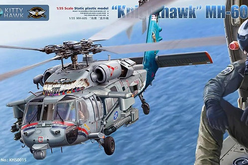 """Knighthawk"" MH-60S w/ M197 Cannon - Kitty Hawk 1:35 KH50015 - ПРЕДЗАКАЗ"