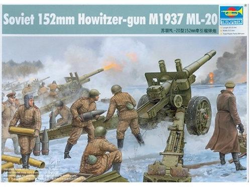 Советская 152-мм гаубица-пушка МЛ-20 обр. 1937 г. - Trumpeter 1:35 02315