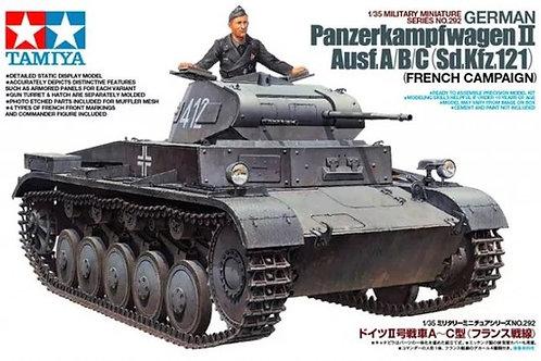Немецкий танк Pz.II Ausf.A/B/C, кампания во Франции - Tamiya 1:35 35292