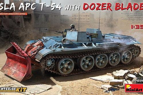 (под заказ) SLA Heavy APC SLA APC T-54 w/Dozer Blade Interior - MiniArt 37028