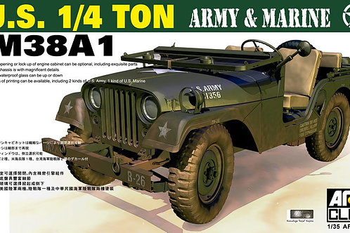 U.S. 1/4 ton M38A1 Army & Marine - AFV Club 1:35 AF35S17 под заказ