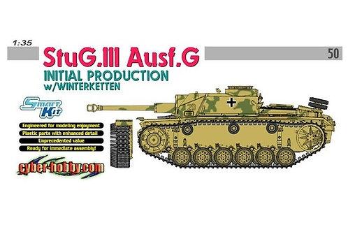 StuG.III Ausf.G Initial Production w/Winterketten - Cyber Hobby 6598 1:35