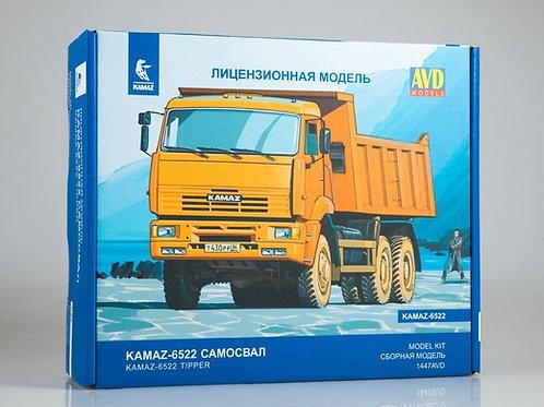 КАМАЗ-6522 самосвал - 1447avd 1447 AVD Models 1/43