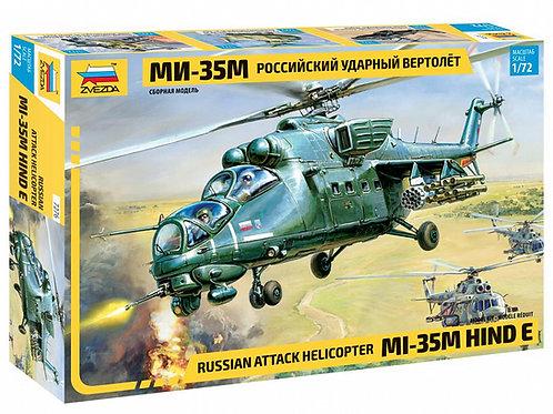 Российский ударный вертолет Ми-35М - Звезда 7276 1/72