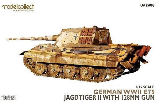 E-75 Jagdtiger II with 128mm gun - Modelcollect UA35003 1/35 - серия Fist of war