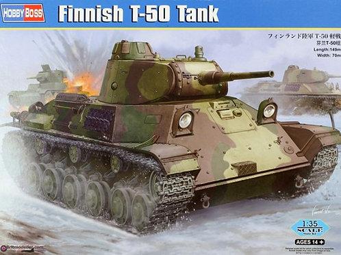 Финский трофейный танк Т-50 - Hobby Boss 83828 1:35