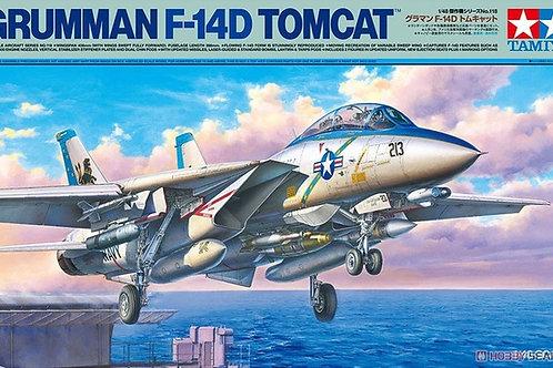 (под заказ) Американский самолет Grumman F-14D Tomcat - Tamiya 1:48 61118