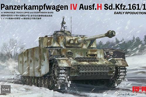 Немецкий танк Pz.IV Ausf.H Early Production - Rye Field Model 1:35 RM-5046