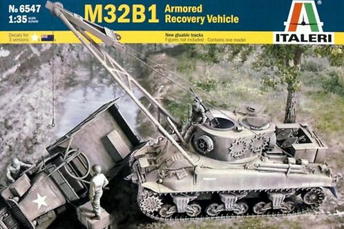 Американская БРЭМ на шасси Шермана, M32B2 Recovery Vehicle - Italeri 1:35 6547