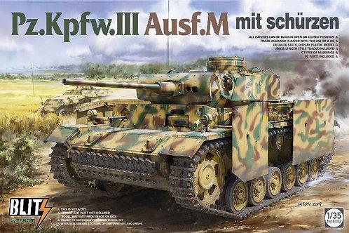Pz.Kpfw.III Ausf.M mit schürzen - TAKOM 8002 1/35