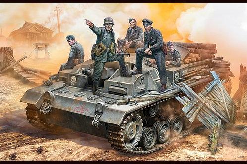"MasterBox 1/35 Экипаж немецкого StuG III, ""Их позиция позади того леса!"" MB35208"