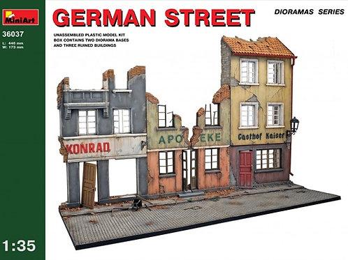 36037 MiniArt 1/35 Немецкая улица German Street - заготовка для диорамы