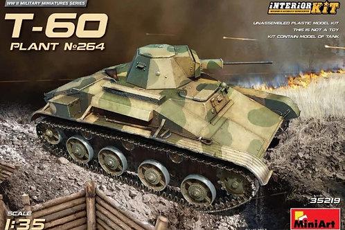 Советский танк Т-60 СТЗ, с интерьером - 35219 MiniArt 1/35