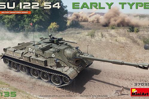 Точеный ствол + СУ-122-54 раннего выпуска - MiniArt 37035 1/35