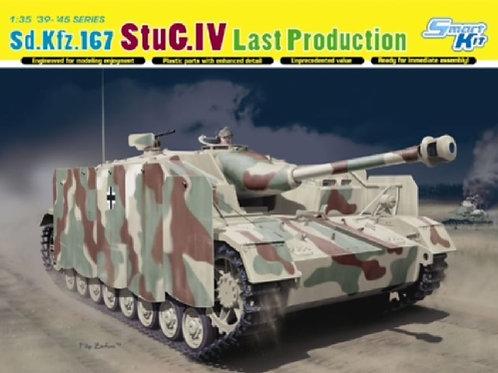 Sd.Kfz. 167 StuG IV Last Production - Dragon 6647 1:35