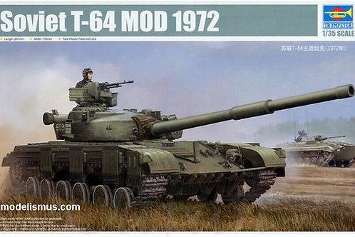 Советский танк Т-64А мод. 1972 года - Trumpeter 01578 1:35