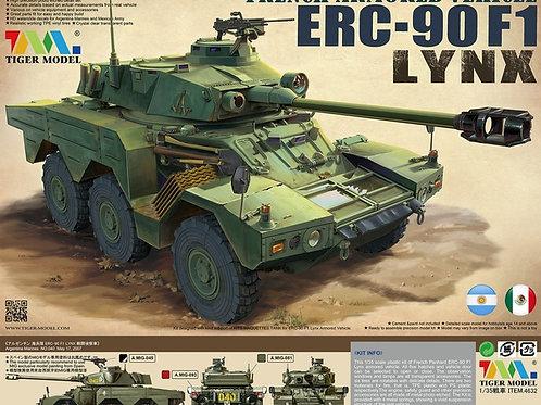 (под заказ) French Armored Vehicle ERC-90 F1 Lynx - Tiger Model 1:35 4632