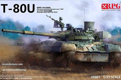 (в пути) Советский танк Т-80У - RPG Model 35001 1/35 (новая версия)