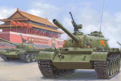 Китайский танк Тип 59 / Chinese PLA Type 59 - Hobby Boss 84539 1/35