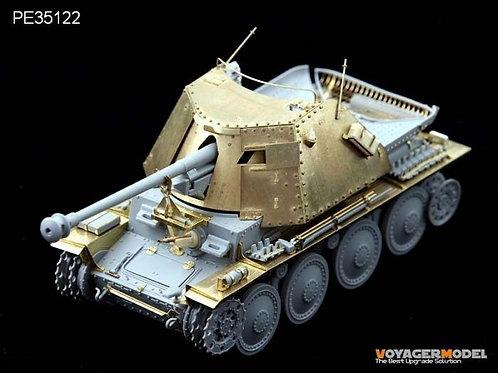 Травление Marder III Ausf. H (Dragon) - Voyager Model 1:35 PE35122