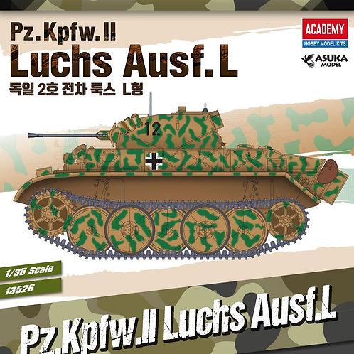(под заказ) Pz.Kpfw.II Ausf.L Luchs - Academy 13526 1/35 (перепак Asuka)