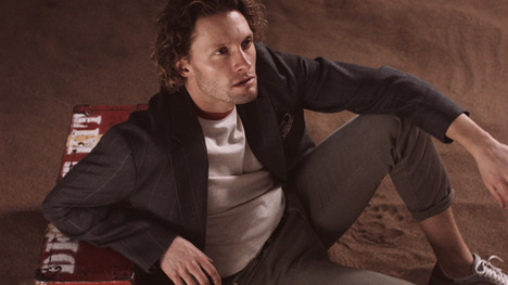 Video screen cap from the Desert Oydessy campaign by The Helm Clothing.