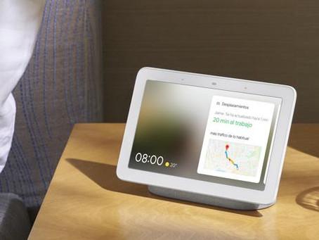 Nest Hub, el primer altavoz inteligente de pantalla de Google