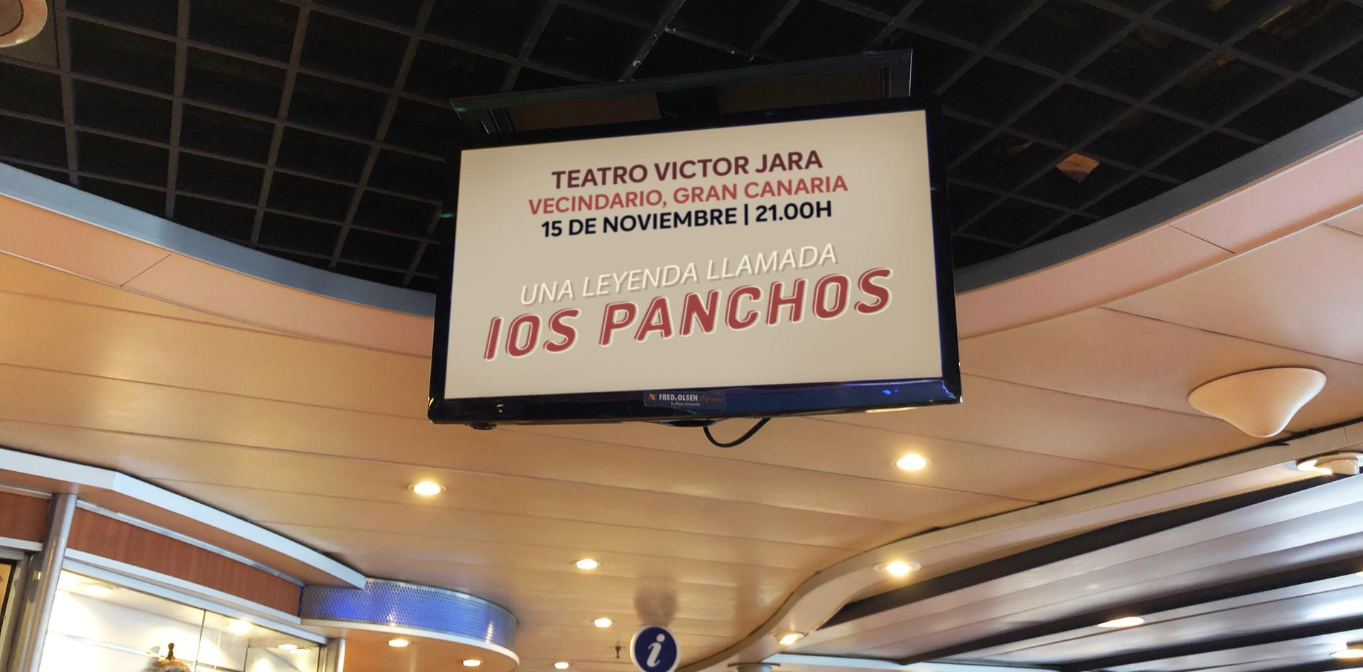 SPOT LOS PANCHOS CHANNEL WATCH TV FRED OLSE