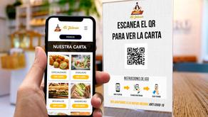 Cartas y Menús Digitales al Alcance de Tu Mano