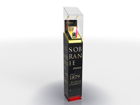 Стойка SOBRANIE для Japan Tobacco Inc.