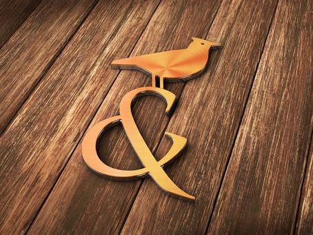 Логотип и фирменный стиль для кафе «Жаворонки и совы»