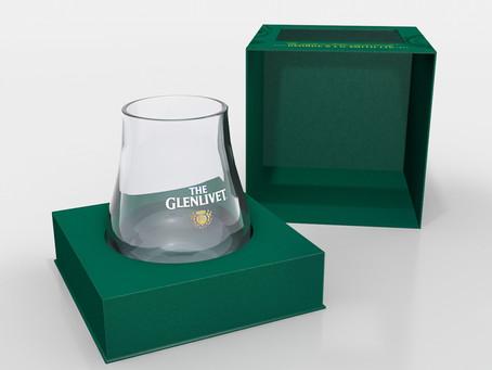 Промо-упаковка бокала The Glenlivet для Pernod Ricard