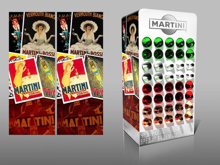 Шкаф Martini для компании Bacardi Limited