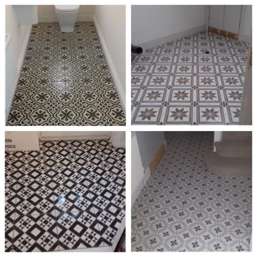 Tiled Victorian Floors