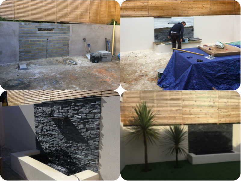 GARDEN WATER FEATURE WALL