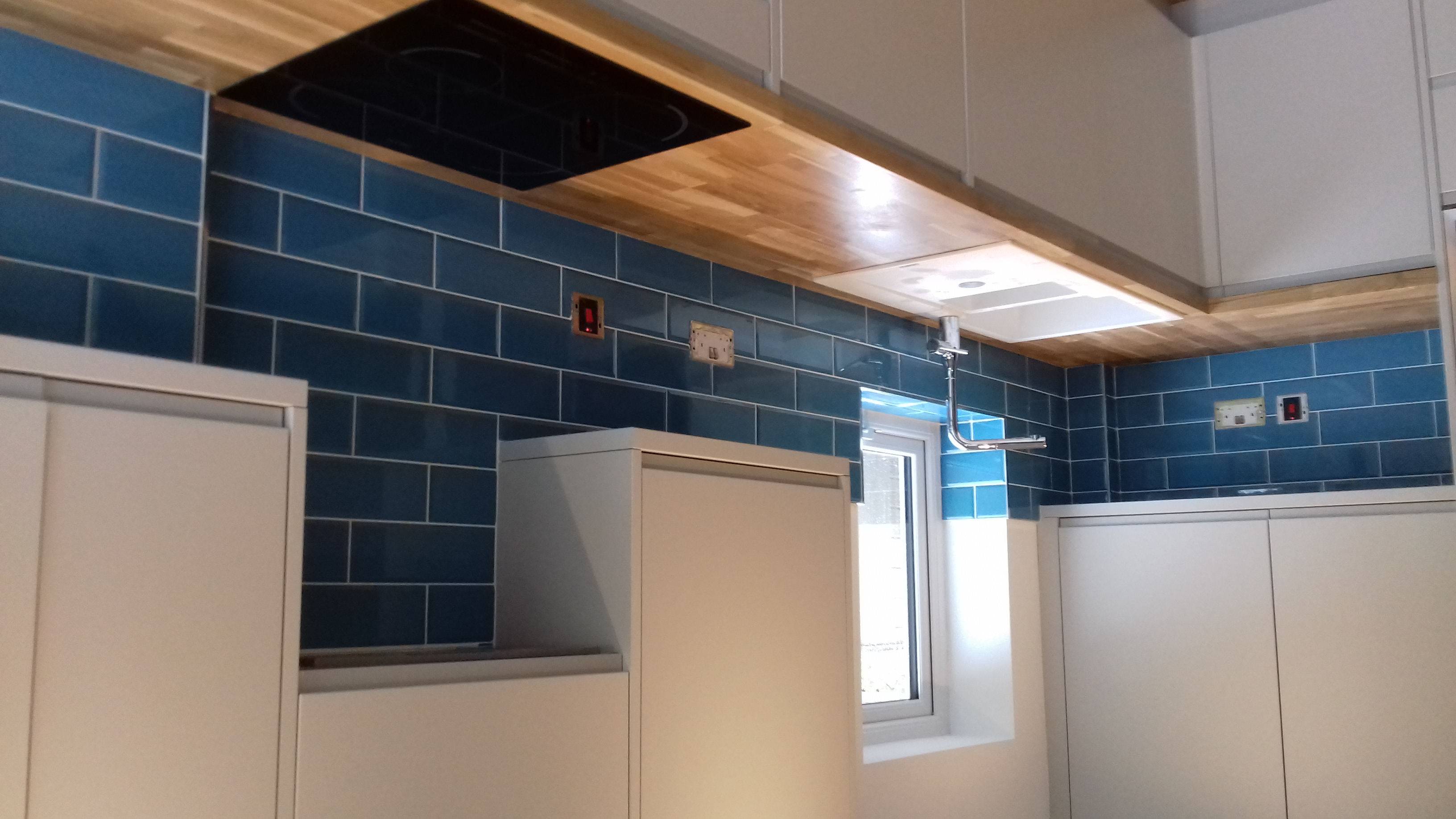 Tiled Kitchen Splash Back
