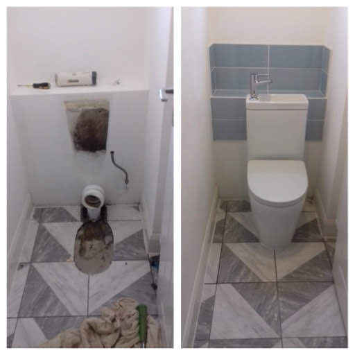 New Combined WC & Basin.