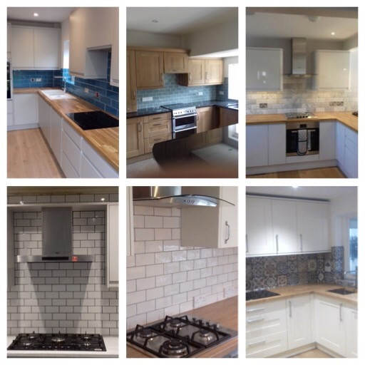 A Mix Of Tiled Kitchen's We Have Tiled Over Some Years